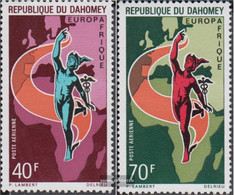 Dahomey 427-428 (complete.issue.) Unmounted Mint / Never Hinged 1970 Europafrique - Benin - Dahomey (1960-...)