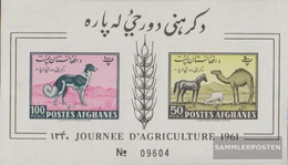 Afghanistan Block8b (complete Issue) Unmounted Mint / Never Hinged 1961 Animal Pictures - Afghanistan