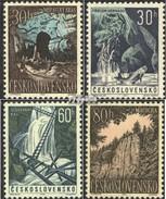 Czechoslovakia 1418-1421 (complete Issue) Unmounted Mint / Never Hinged 1963 Nature - Tschechoslowakei/CSSR