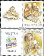 Czech Republic 642Zf-643Zf With Zierfeld (complete.issue.) Unmounted Mint / Never Hinged 2010 Philately - Tsjechië