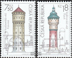 Czech Republic 530-531 (complete Issue) Unmounted Mint / Never Hinged 2007 Wassertürme - Nuovi