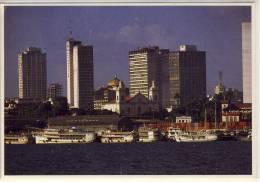 MANAUS BRASIL PORTO E TEATRO HARBOR AND THEATRE  NICE STAMP - Manaus