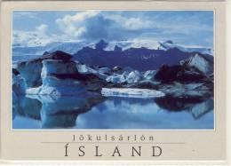 ISLAND JÖKULSARLON ISJAKAR UR BREIDAMERKURJÖKLI    NICE STAMP - Islande