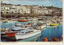 GUERNSEY C.I.  OLD HARBOUR  NICE STAMP EDIT JOHN HINDE - Guernsey