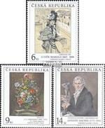 Czech Republic 96-98 (complete Issue) Unmounted Mint / Never Hinged 1995 Art - Czech Republic