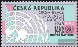 Czech Republic 90 (complete Issue) Unmounted Mint / Never Hinged 1995 UN - Czech Republic
