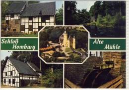 HOMBURG SCHLOSS ALTE MÜHLE MEHRFACHANSICHT - Saarpfalz-Kreis