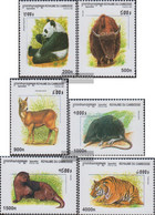 Cambodia 2005-2010 (complete Issue) Unmounted Mint / Never Hinged 1999 Mammals - Cambodja