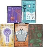 égypte 817,818,819,820,823 (complète.Edition.) Neuf Avec Gomme Originale 1966 Ramadan, Le Caire, Ligue, Revue De Press - Ungebraucht