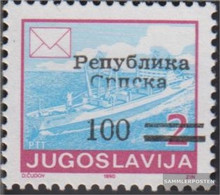 Serbian Republic Bos.-h 7C Unmounted Mint / Never Hinged 1992 Clear Brands - Serbia