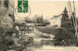 CPA - BOUSSY-SAINT-ANTOINE (91) - Aspect Des Vannes Du Moulin Neuf En 1912 - France