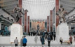 Bruxelles  Expo 58  Pavillon URSS - Expositions Universelles