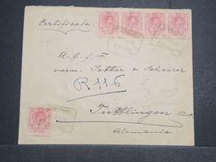 ESPAGNE - Enveloppe En Recommandé De Malaga Pour L 'Allemagne En 1920 - L 10356 - 1889-1931 Royaume: Alphonse XIII