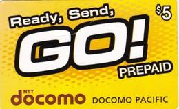 Guam And Micronesia, GU-DO-PA-01, Ready, Send GO! 5$ (yellow), 2 Scans. - Guam