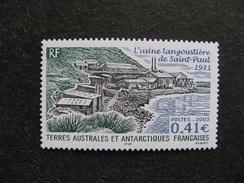 TAAF: TB N° 349, Neuf XX. - Unused Stamps