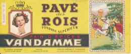 BUVARD - Pain D'Epices VANDAMME, Pavé Des Rois - Gingerbread