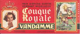 BUVARD - Pain D'Epices VANDAMME, Touque Royale, Clovis - Gingerbread