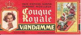 BUVARD - Pain D'Epices VANDAMME, Touque Royale, Dagobert - Gingerbread