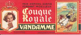 BUVARD - Pain D'Epices VANDAMME, Touque Royale, Roi Fainéant - Gingerbread