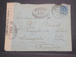 ESPAGNE - Enveloppe De Barcelone Pour La France En 1917 Avec Contrôle Postal Militaire - L 10363 - 1889-1931 Royaume: Alphonse XIII