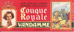 BUVARD - Pain D'Epices VANDAMME, Touque Royale, Charles Martel - Gingerbread