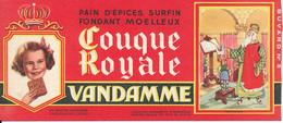 BUVARD - Pain D'Epices VANDAMME, Touque Royale, Charlemagne - Gingerbread