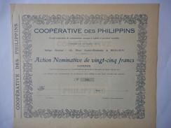 Cooperative Des PHILIPPINS  ROUEN Rue Saint Romain - Actions & Titres
