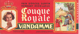BUVARD - Pain D'Epices VANDAMME, Touque Royale, Saint Louis - Gingerbread