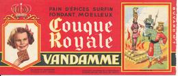 BUVARD - Pain D'Epices VANDAMME, Touque Royale, Philippe Le Bel - Gingerbread