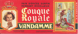 BUVARD - Pain D'Epices VANDAMME, Touque Royale, Charles VII - Gingerbread