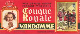 BUVARD - Pain D'Epices VANDAMME, Touque Royale, Louis XI - Gingerbread