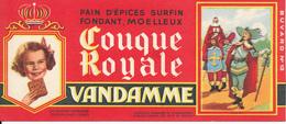 BUVARD - Pain D'Epices VANDAMME, Touque Royale, Louis XIII - Gingerbread