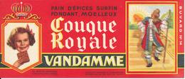BUVARD - Pain D'Epices VANDAMME, Touque Royale, Louis XIV - Gingerbread