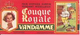 BUVARD - Pain D'Epices VANDAMME, Touque Royale, Louis XVI - Gingerbread