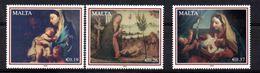 Stamps Christmas Malta 2008 Complete Set MNH - Malta