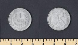 Guinea 1 Syli 1971 - Guinea