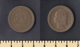 Guinea-Bissau 20 Centavos 1933 - Guinea-Bissau