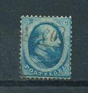 1864 Netherlands 5 Cent King Willem III Used/gebruikt/oblitere - 1852-1890 (Guillaume III)