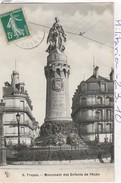 Militaria : Monument Aux Morts  ( TROYES ) Monument Des Enfants De L'aube - Monumenti Ai Caduti