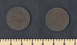 Guinea-Bissau 50 Centavos 1946 - Guinea-Bissau