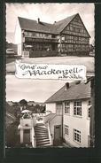 """AK Mackenzell / Rhön, Gasthof """"Zum Ulmenstein"""" Mit Terrasse - Rhoen"""