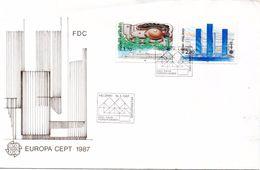 Suomi Finland CEPT 1987 FDC - Finlandia