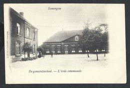 +++ CPA - SOMERGEM - ZOMERGEM - De Gemeenteschool - Ecole Communale // - Zomergem