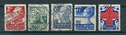 1927 Netherlands Complete Set Red Cross Used/gebruikt/oblitere - Periode 1891-1948 (Wilhelmina)