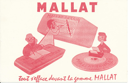 BUVARD - Gomme MALLAT - Papeterie