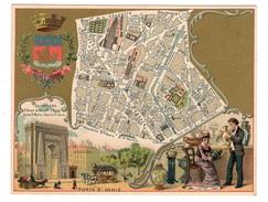Plan Du 10ème Arrondissement - Chromos