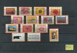 1998 Netherlands 14x Greetings Used/gebruikt/oblitere(D-21) - Periode 1980-... (Beatrix)