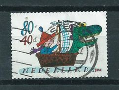 1999 Netherlands Child Welfare,self-adhesive Used/gebruikt/oblitere - Periode 1980-... (Beatrix)