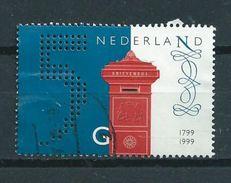 1999 Netherlands 5.00 Gulden,post Used/gebruikt/oblitere - Periode 1980-... (Beatrix)