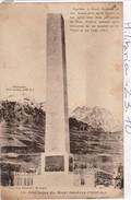 Militaria : Monument   ( Mont Genèvre )  Obelisque - Monumenti Ai Caduti